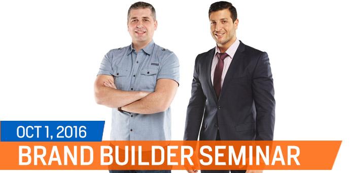 Brand Builder Seminar